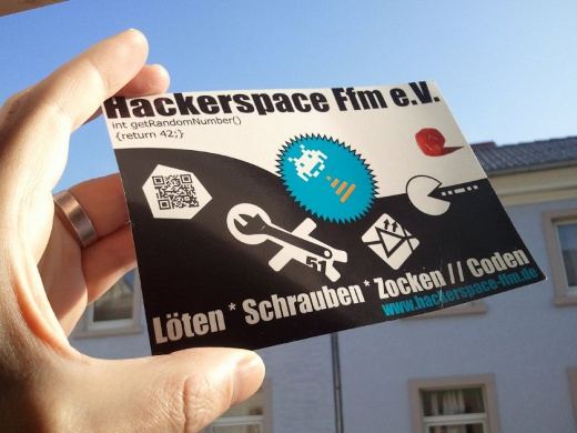 Hackerspace-Flyer